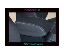 Nissan Patrol CONSOLE LID COVER - BLACK Waterproof Neoprene (Wetsuit), UV Treated