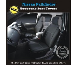 NISSAN PATHFINDER WATERPROOF, UV TREATED, WETSUIT FRONT PAIR OF CAR SEAT COVERS