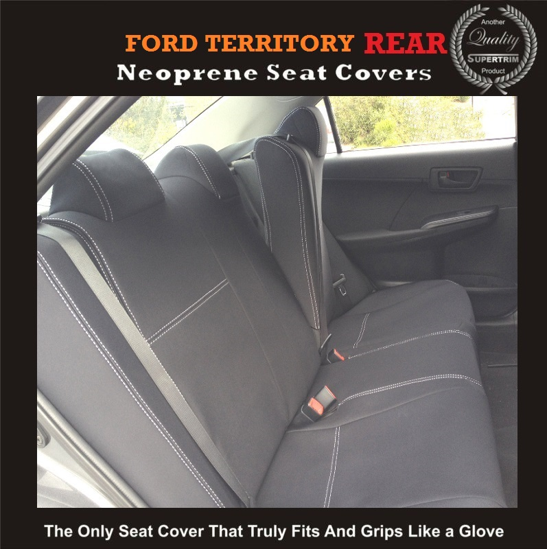 FORD TERRITORY REAR NEOPRENE WATERPROOF UV TREATED WETSUIT CAR SEAT COVER - Supertrim  sc 1 st  Supertrim & FORD TERRITORY REAR NEOPRENE WATERPROOF UV TREATED WETSUIT CAR ... markmcfarlin.com