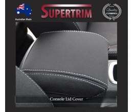 CONSOLE Lid Cover Snug Fit for Nissan NP300 May 2015 - Now, Premium Neoprene (Automotive-Grade) 100% Waterproof