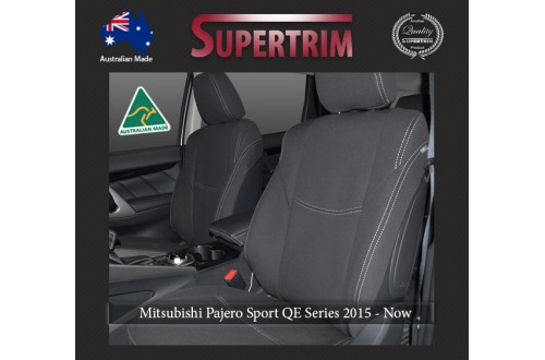 Mitsubishi Pajero Neoprene Custom Car Seat Covers FRONT & Rear