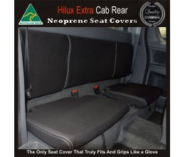 Toyota Hilux Neoprene Seat Covers