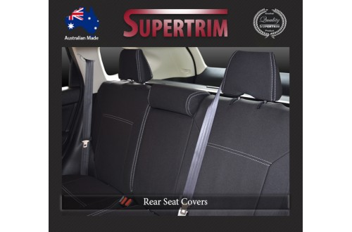 HONDA CR-V REAR NEOPRENE WATERPROOF UV TREATED WETSUIT CAR SEAT COVER