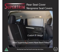 Seat Covers REAR Snug Fit for Hyundai iLoad TQ-V (Feb 2008 - Now)  , Premium Neoprene (Automotive-Grade) 100% Waterproof