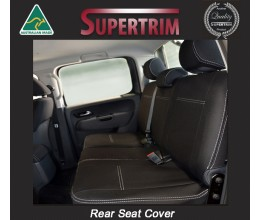 Seat Covers 2nd Row Snug Fit for Volkswagon Amarok Ultimate 2017 - Now, Premium Neoprene (Automotive-Grade) 100% Waterproof