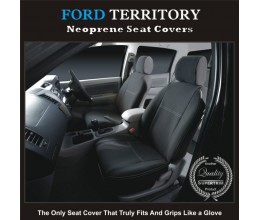 FORD TERRITORY SX/SY/SZ FRONT WATERPROOF WETSUIT CAR SEAT COVERS / PAIR