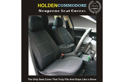 Holden Commodore VE or VF FRONT Car Seat Covers Waterproof Premium Neoprene