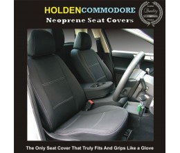 HOLDEN COMMODORE OR CALAIS VE VF VX VY VZ OMEGA/STATEMAN/SV6 FRONT WATERPROOF CAR SEAT COVERS