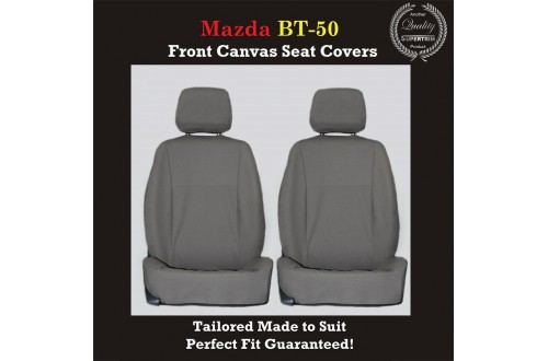 MAZDA BT-50 (BT50) FRONT SEAT COVERS  CANVAS Canvas
