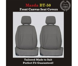 MAZDA BT-50 (BT50) FRONT CANVAS SEAT COVERS