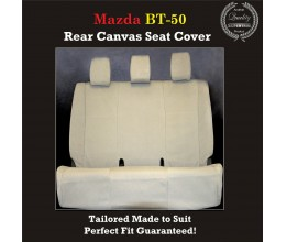 MAZDA BT-50 (BT50)  REAR CANVAS SEAT COVERS
