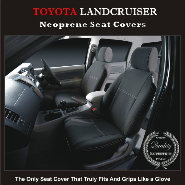 Seat Covers FRONT Suitable For Toyota Landcruiser Series