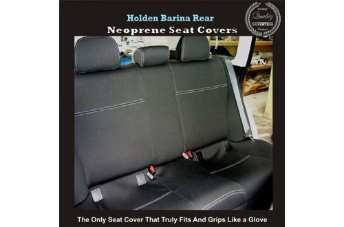 HOLDEN BARINA REAR NEOPRENE WATERPROOF UV TREATED WETSUIT CAR SEAT COVER
