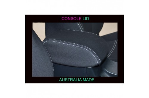 Volkswagen Caddy Console Lid Cover (Single / Extra / Dual – Cab -  Ute / Cab Chassis) Premium Neoprene (Automotive-Grade) 100% Waterproof