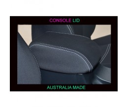 Holden Colorado CONSOLE LID COVER, BLACK Waterproof Neoprene (Wetsuit), UV Treated
