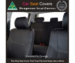 Seat Covers FRONT suitable for Toyota FJ Cruiser Series – GSJ15R, Premium Neoprene (Automotive-Grade) 100% Waterproof