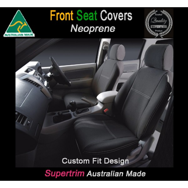 TOP MITSUBISHI ASX FRONT PAIR OF WATERPROOF CAR SEAT COVERS WITH SEPARATE HEADREST