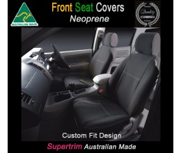 Hyundai iMax TAILOR-MADE Seat Covers (NEW: 2018 model available) - FRONT PAIR IN FULL BACK + MAP POCKET 100% Perfect fit, Charcoal black,100% Waterproof Premium quality Neoprene (Wetsuit), UV Treated