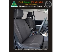 MAZDA BT-50 (BT50) FRONT  SEAT COVERS Premium quality neoprene wetsuit