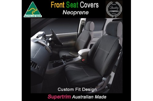Seat Covers FRONT Bucket Seats Snug Fit for [Renault Trafic 2015 - Now], Premium Neoprene (Automotive-Grade) 100% Waterproof