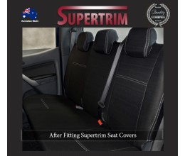 Mazda BT-50 UP (Aug 2011 - Sept 2015) REAR Dual Cab Seat Covers, Snug Fit, Premium Neoprene (Automotive-Grade) 100% Waterproof