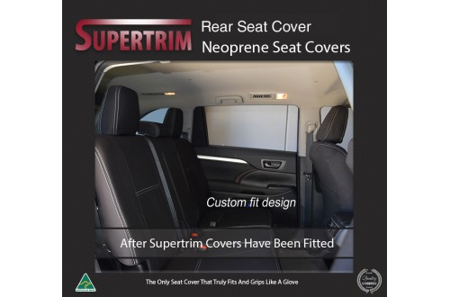 Ford Escape REAR Custom Car Seat Covers Premium Neoprene (Wetsuit)