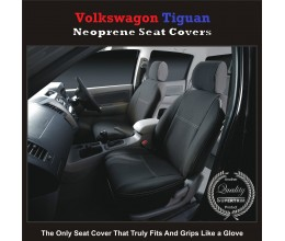 TOP VOLKSWAGEN (VW) TIGUAN FRONT WATERPROOF NEOPRENE CAR SEAT COVERS