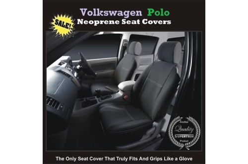 TOP VOLKSWAGEN (VW) POLO FRONT WATERPROOF NEOPRENE CAR SEAT COVERS