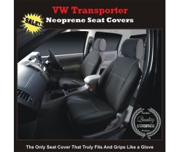 TOP VOLKSWAGEN (VW) TRANSPORTER FRONT PAIR OF WATERPROOF NEOPRENE CAR SEAT COVERS
