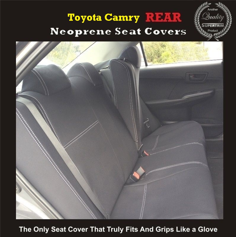 Seat Covers Rear Suitable For Toyota Camry Xv30 Xv40